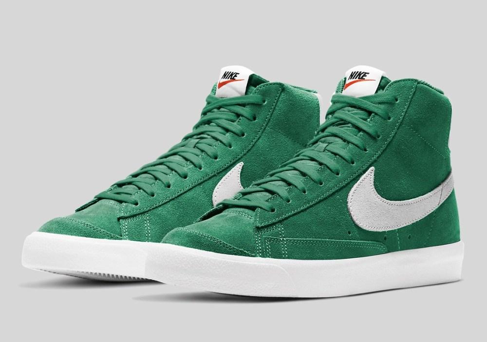 Nike Blazer Mid '77 Suede Pine Vert CI1172-301 - Crumpe