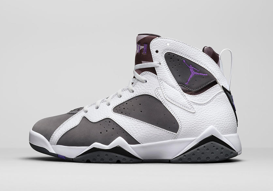 "Air Jordan 7 ""Flint"" White/Flint Grey CU9307-100 | SneakerNews.com"