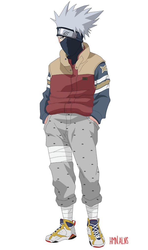 Naruto Bape Supreme Wallpaper