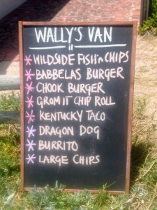 Wally's Van - Buffelsbaai