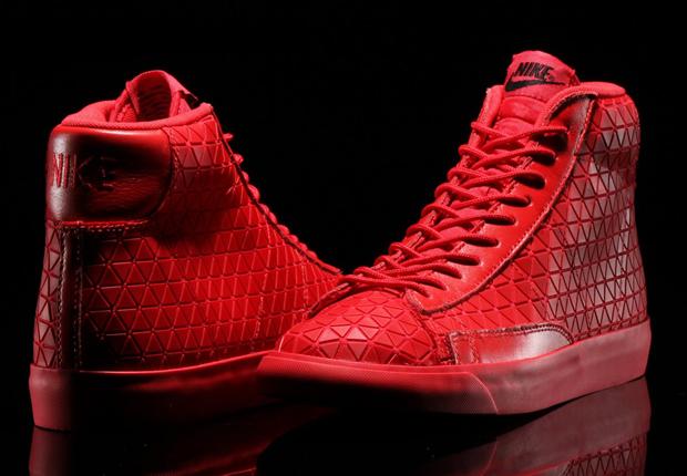 Nike Blazer Mid Red
