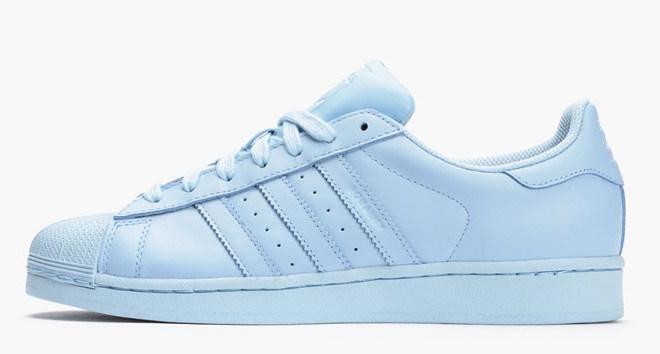 adidas original superstar supercolor blue