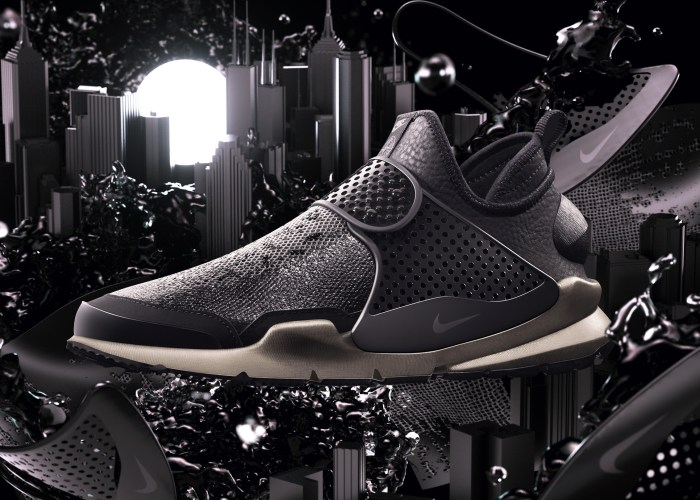 Nike Oficializa O Lançamento Do Sock Dart Mid Em Parceria Com A Stone Island