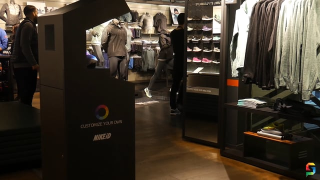 NikeID E A Máquina De Realidade Aumentada