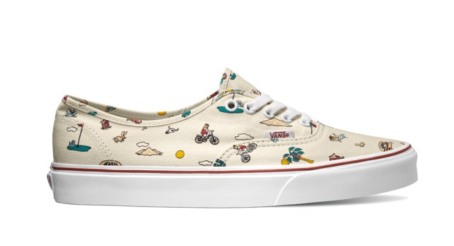 Vans Authentic_Party Train_ the desert-white_VN0A38EMMQ3_R$299,99