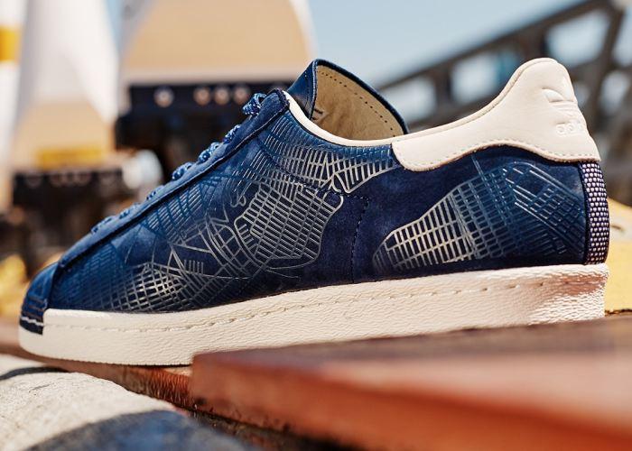 adidas Originals Homenageia Nova York Utilizando O Superstar