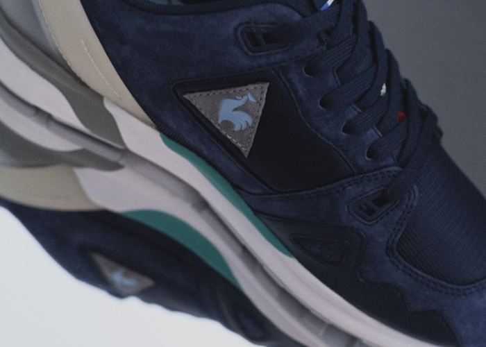 Le Coq Sportif E mita Sneakers Trabalharam Em Um Novo Híbrido