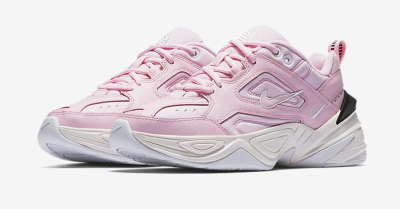 eca4b49f9 Nike combines elements of the Monarch 1 and Monarck IV as the Nike Women s  M2K Tekno  Pink Foam  is set to release on May 5
