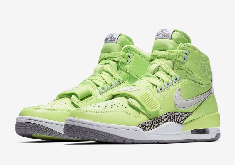 factory authentic 2379d 81a69 Release Date: Air Jordan Legacy 312 'Ghost Green'