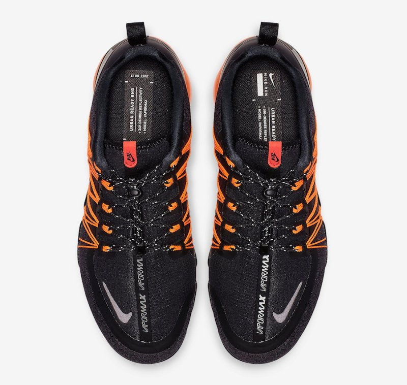 fcbee76381c90 Nike Air VaporMax Run Utility  Black Orange