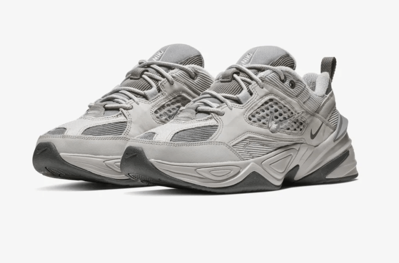 785075d424dc Nike combines elements of the Monarch 1 and Monarck IV as the Nike M2K  Tekno  Atmosphere Grey  is set to release on January 17