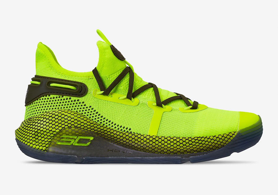 Under Armour Curry 6 'Hi Vis Yellow