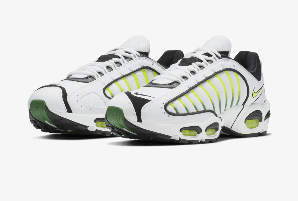 Release Date: Nike Air Max Tailwind 4 'White/Volt'