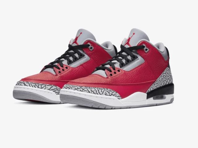 Air Jordan 3 Fire Red/Cement