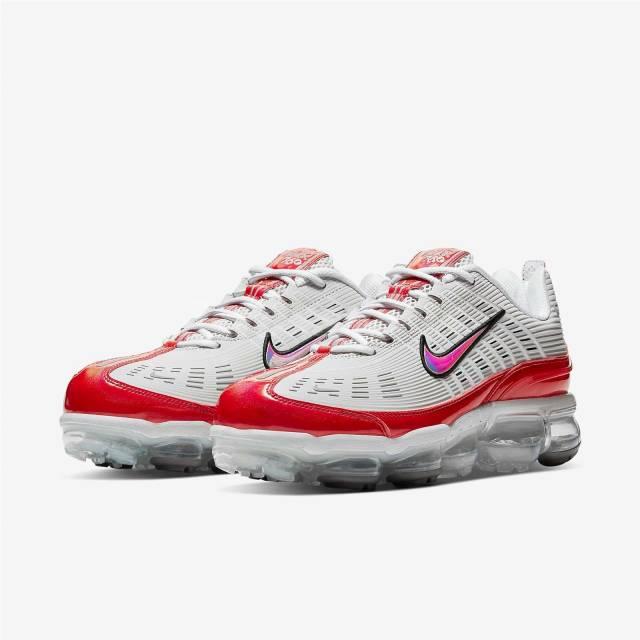 Nike Air VaporMax 360 White/University Red