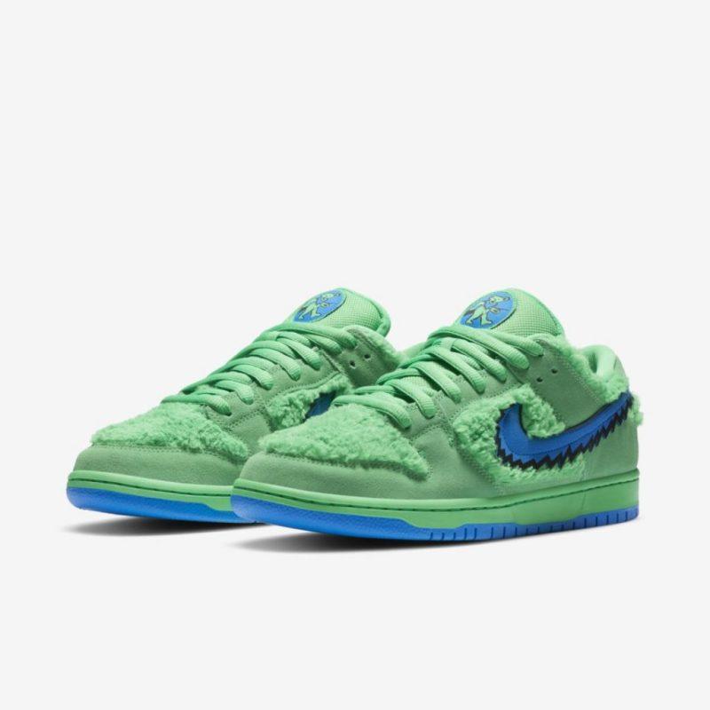 Grateful Dead x Nike SB Dunk Low Green