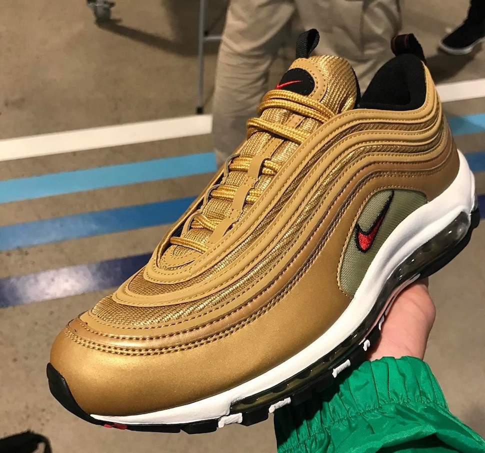 "promo code d04ac 97937 ""Metallic Gold"" Nike Air Max 97 to release in April"