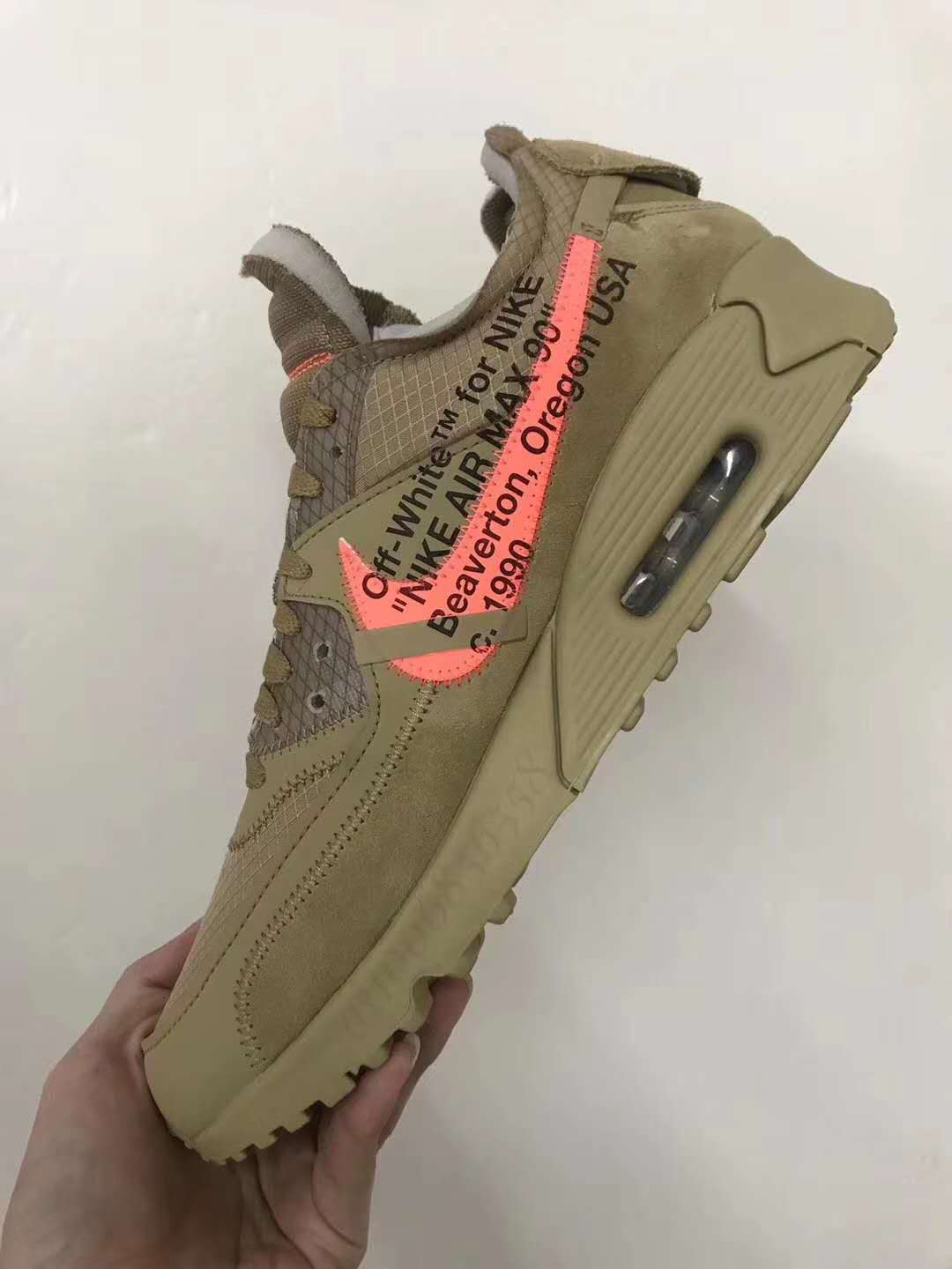 reputable site 0584a 57890 First Look at the Off White x Nike Air Max 90