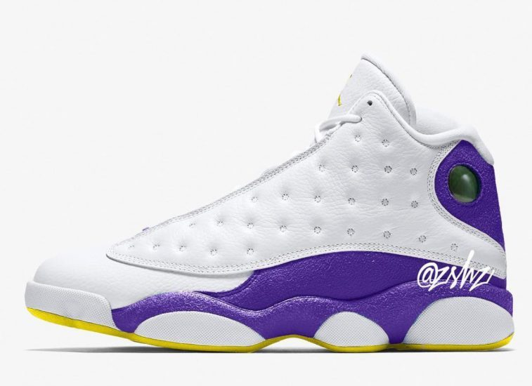 "34a811f58ecc ""Lakers"" Air Jordan 13 to release summer 2019"