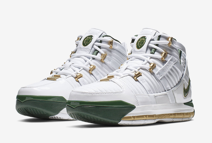 "watch cab4c aa395 ""SVSM Home"" Nike Zoom Lebron 3 has a release date"