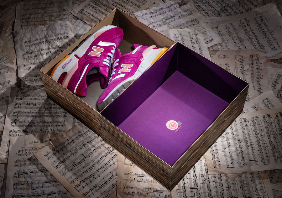 """3f688cd5c3a38 The 'Curse of the Bambino"""" inspired this Concepts and New Balance  collaboration"""