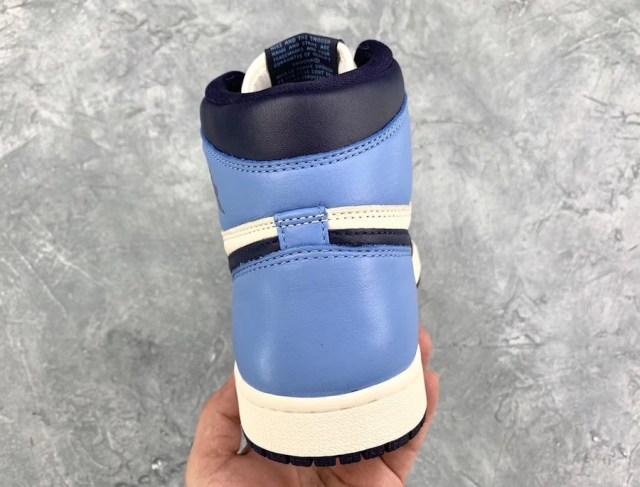 a41304f0 Air Jordan 1 Retro High OG Sail/Obsidian-University Blue 555088-140 $160. August  31, 2019