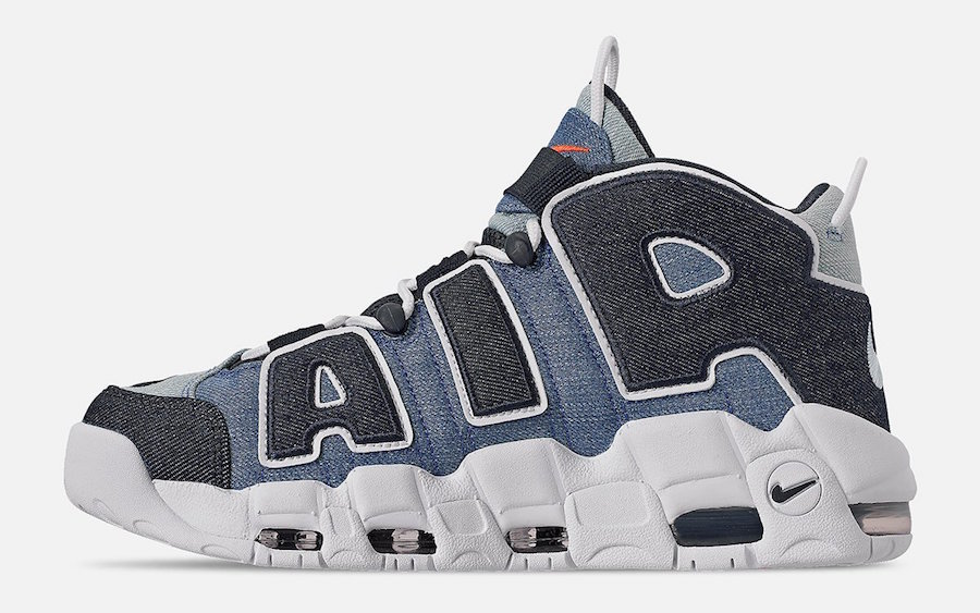 nike air max uptempo nere