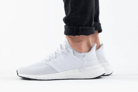 adidas Ultraboost 20 'Triple White' .99 Free Shipping