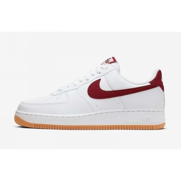 Nike Air Force 1 bianche e rosse - SneakersTrendz