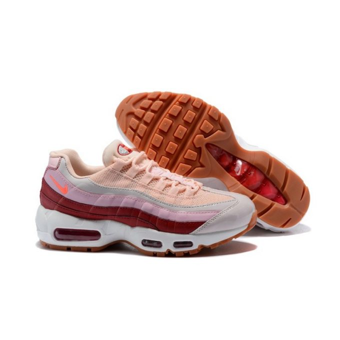 chaussures nike air max 95 rose