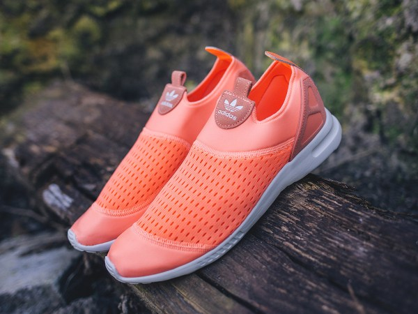 reputable site 1a271 817ee Adidas Originals Wmns Zx Flux Adv Smooth Slip - Shoes · Womens Adidas Slip-On  Sneakers