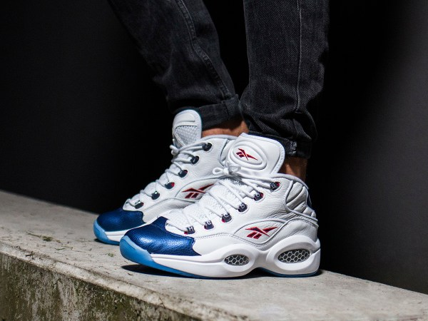 Men' Shoes Sneakers Reebok Question Mid J82534