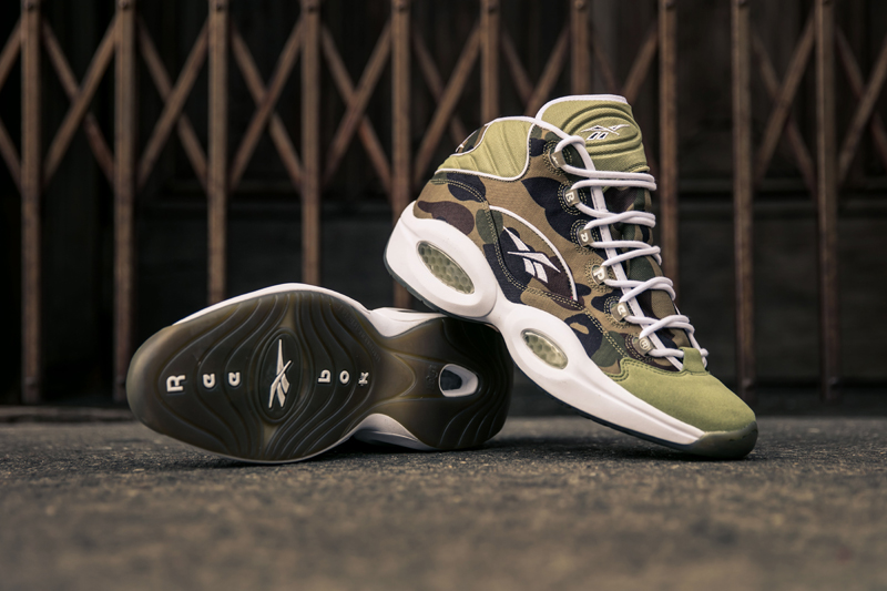 b429bbce228d7 Reebok Question Mid x A Bathing Ape x Mita Sneakers | Dec. Release
