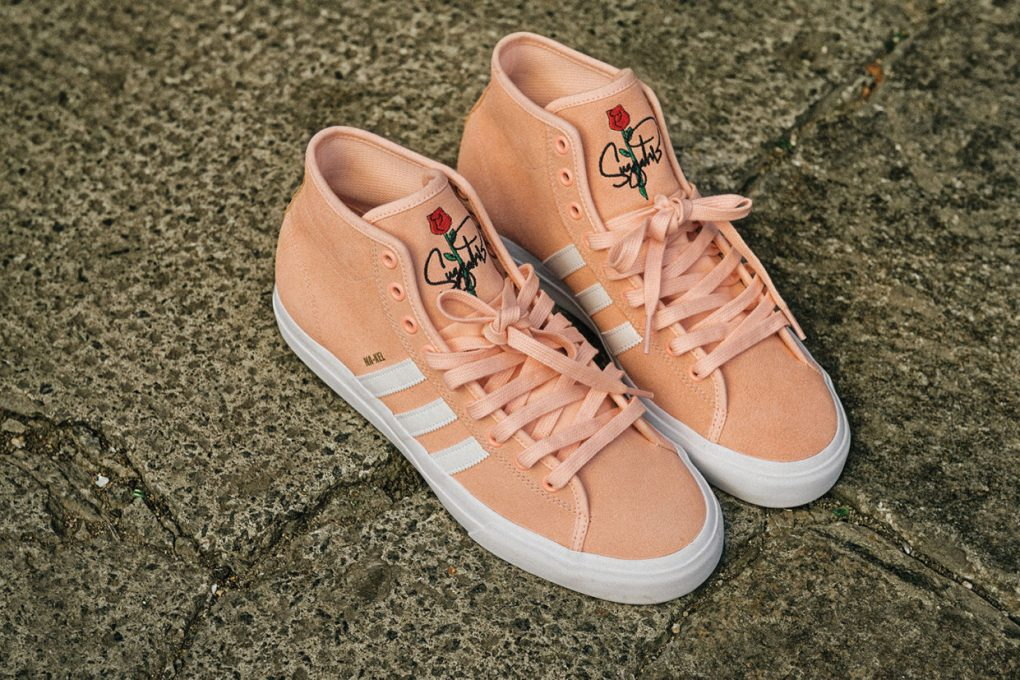 Adidas x Nakel Smith Matchcourt Mid Remix  8fbae170a