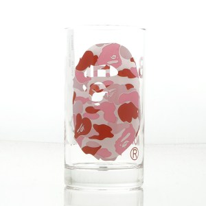 BAPE ABC PINK GLASS