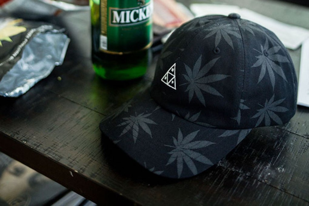 HUF X 420 PLANTLIFE COLLECTION DAD HAT