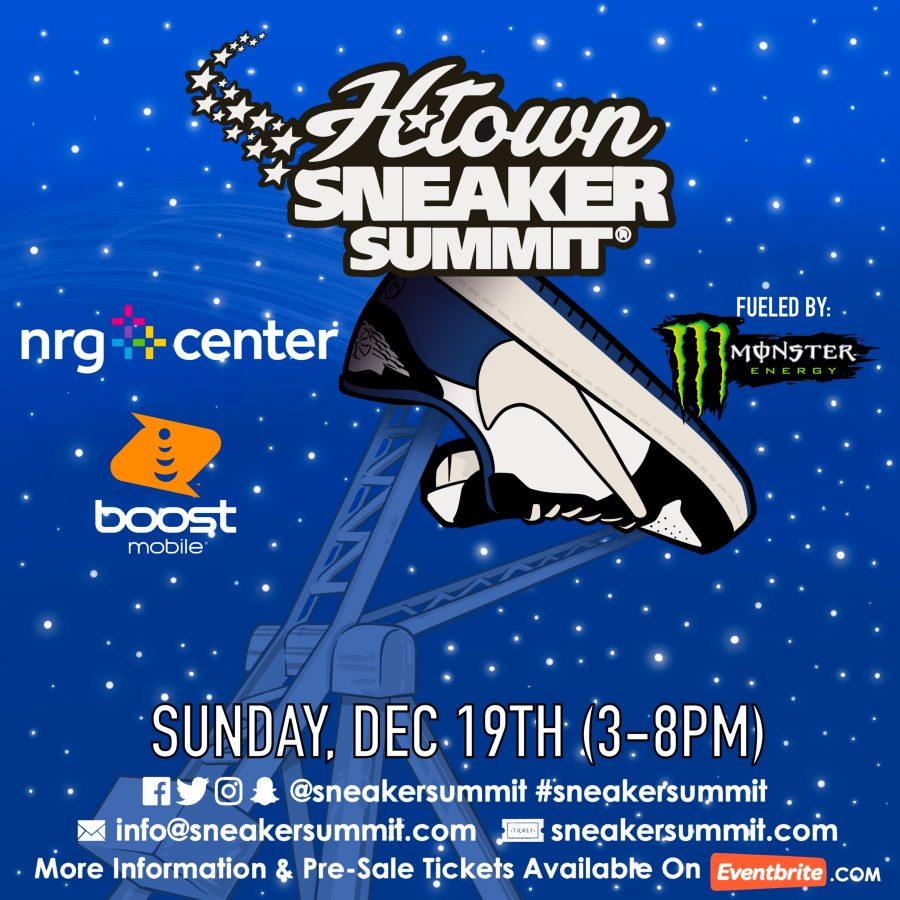 H-Town Sneaker Summit Sunday December 19th, 2021 Flyer