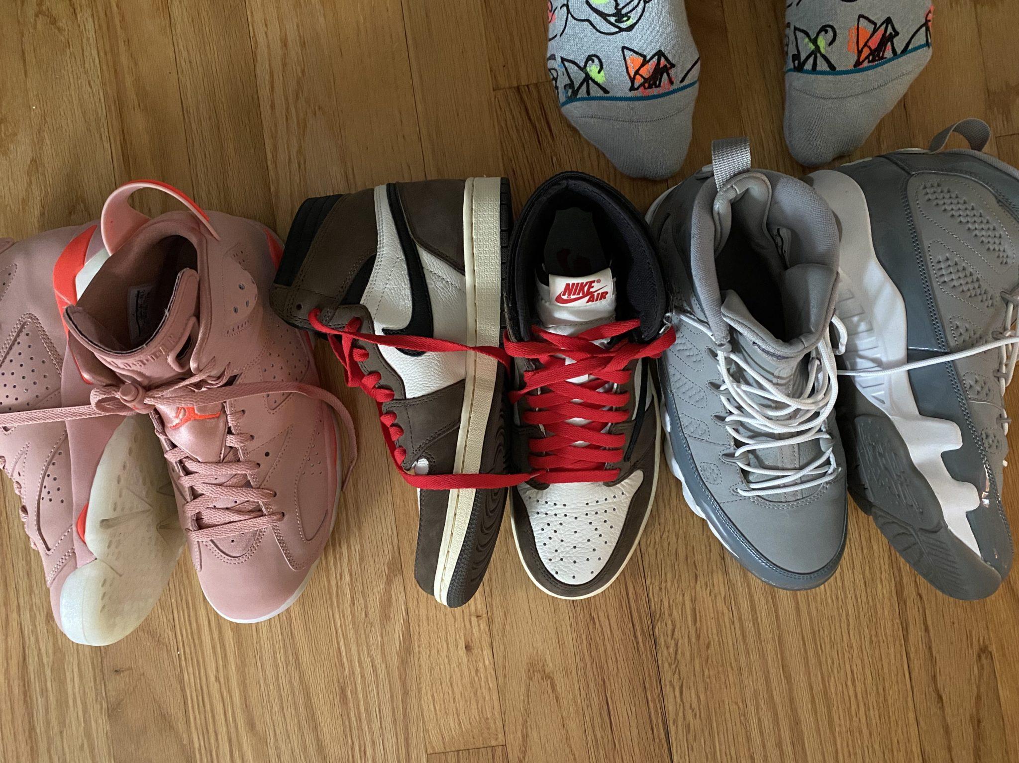 Jordan 1, Jordan 6, Jordan 9, Travis Scott
