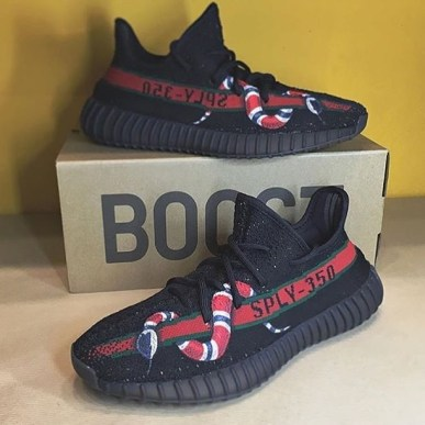 Yeezy Gucci Snake 1