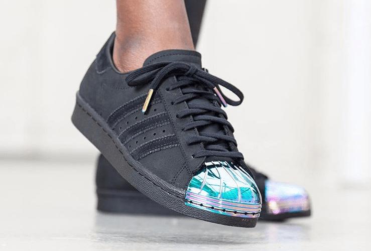 adidas superstar metal noir
