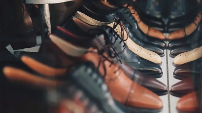 shoes that are made of leather
