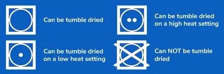 dryer settings