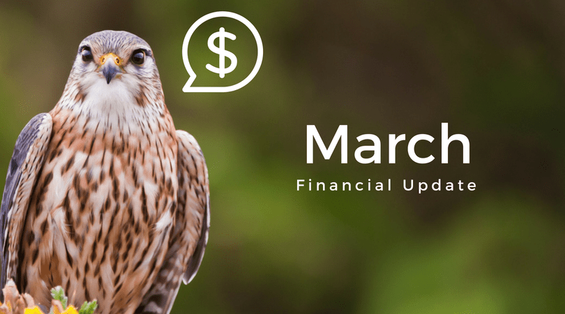 Beary Interesting – March 2018 Financial Update