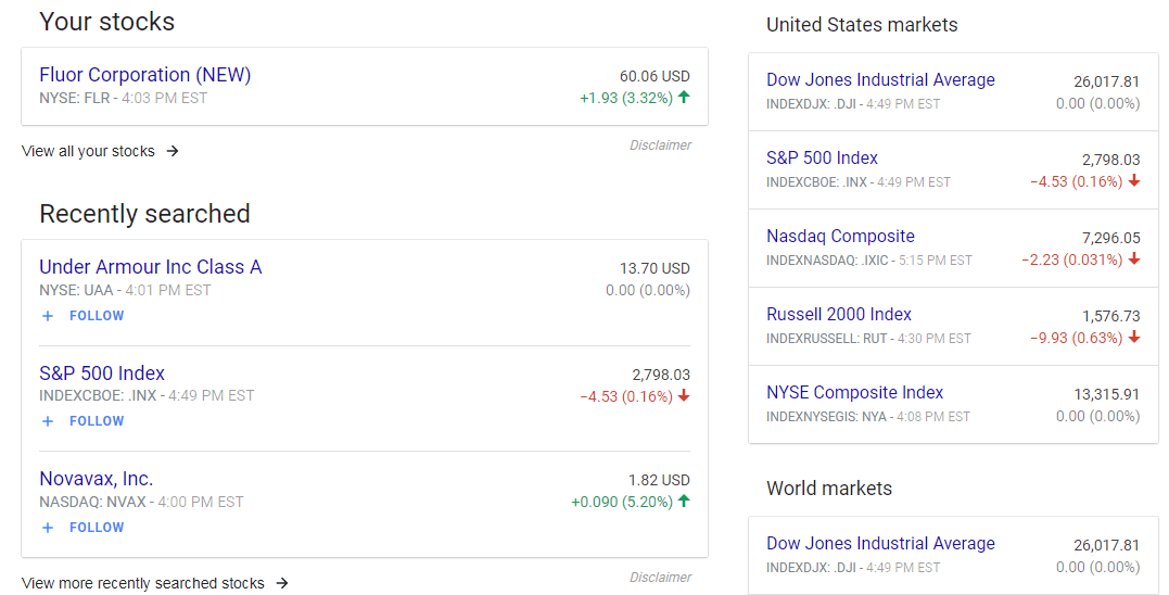 The New Google Finance Sucks This Is A Rant Sneaky Falcon