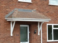 Canopy Roof & Door Canopy Plans | Flat Roof Canopy ...