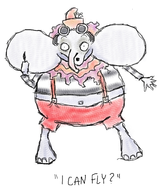 Tim Burton's Dumbo by Amanda Wood