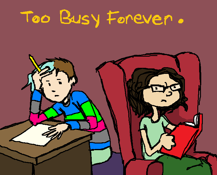 Too Busy Forever by Amanda Wood