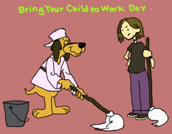 Hong Kong Phooey Daughter Day by Amanda Wood