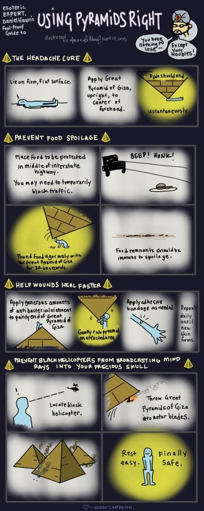 The Secret Power of Pyramids by Daniel Haun and Amanda Wood