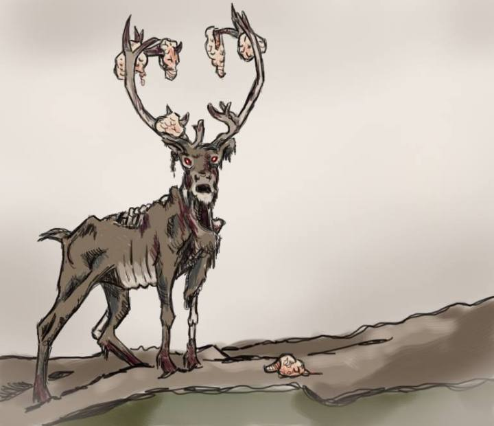 Braindeer by Amanda Wood